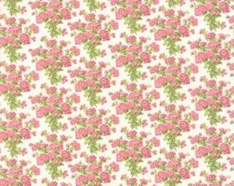 Bespoke Blooms Hydrangea Linen White - 1/2yd
