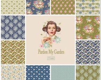 TILDA Pardon My Garden - 12 x 1/4yd Bundle