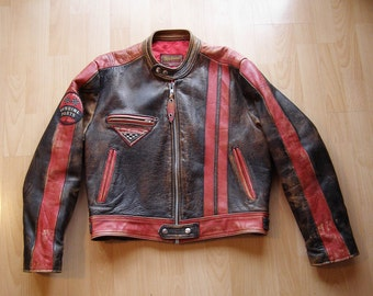 80s Chipie Cafe-Racer motorcycle jacket
