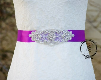 Wedding Belt, Rhinestone Sash, Bridal Sash Belt, Bridal Belt, Crystal Rhinestone Belt, Bridesmaid Sash Belt, Wedding Dress Sash
