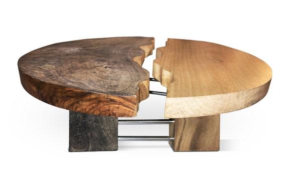 Yin Yang Erosion Effect Coffee Table
