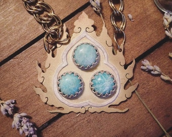 Three Treasures Necklace