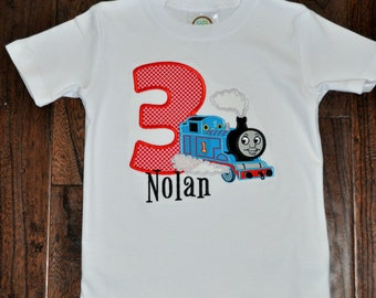 Inspired by Thomas the Train Birthday Shirt