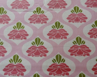 Shabby Chic Tanya Whelan Rose in Pink Fabric by the Yard