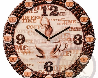 "Coffee Wall Clocks ""# 74"""