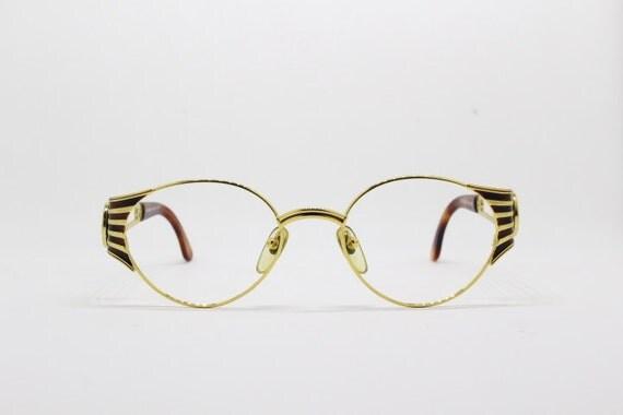 Fendi Glasses Gold Frames : Fendi eyeglasses 90s glasses designer eyewear gold frame