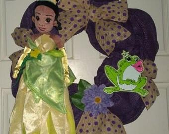 Princess Tiana Wreath/Wall Decor