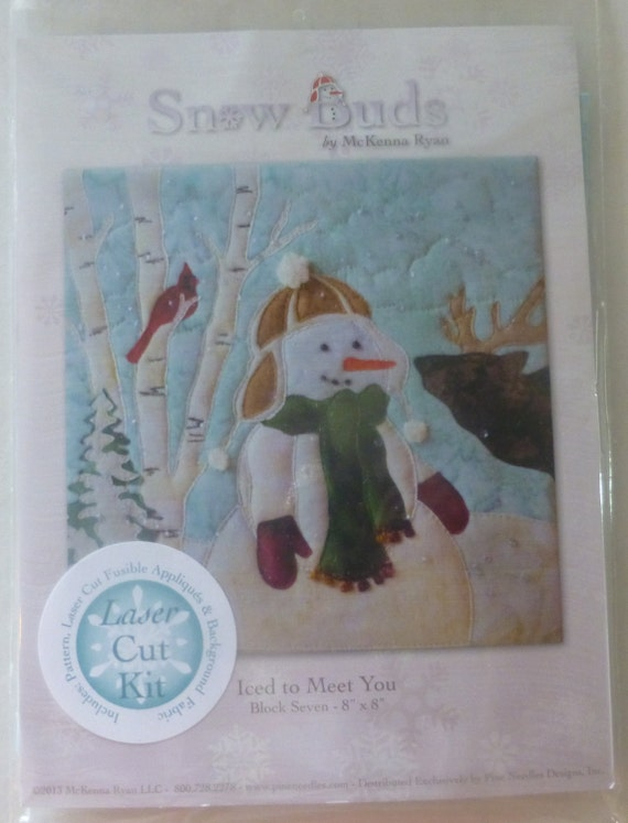 Pine Needles By Mckenna Ryan Pre Cut Laser Applique Kit W