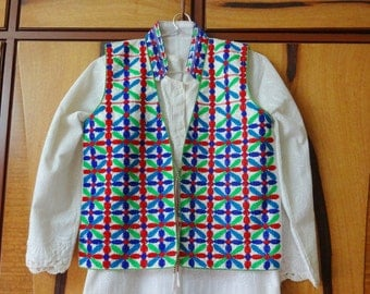 Kutch Embroidered Jackets - Ethnic Indian Jackets - White