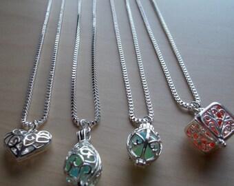 Silver Locket Necklaces