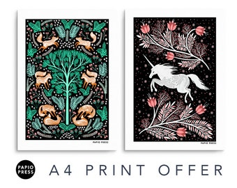 Any Two A4 Prints Offer