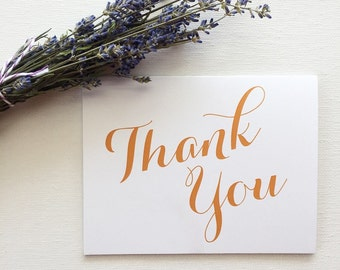 Thank You Card 1pc