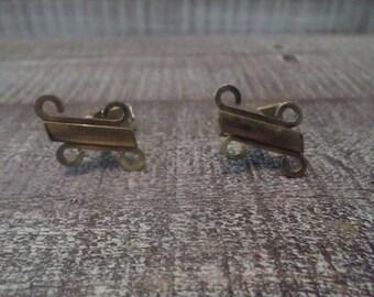 Vintage Gold Toned Cufflinks