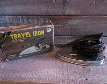 Vintage Valiant Electric Travel Iron