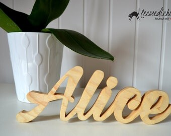 Personalized wooden name-Milasian