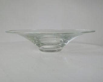 Vintage glass bowl, retro design