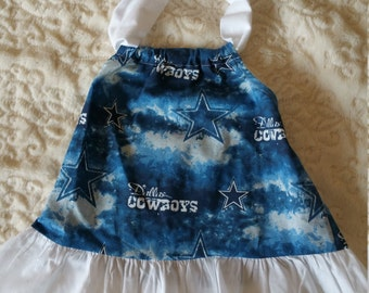 Dallas Cowboys Baby Dress Size 6 Months
