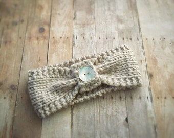 Bows & Buttons headband