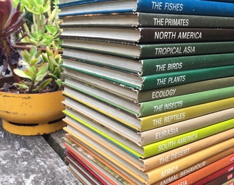 Time Life Nature Library book collection