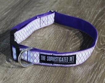 The Unicorn Dog Collar / Purple Dog Collar / Handmade Dog Collar