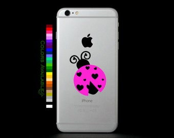 Lovebug Phone Decal
