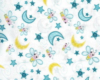 Close Out Priced - Dream a Little Dream Bees in White