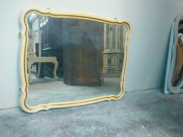 french provincial mirror mirror provincial country shabby sears bonnet 1106