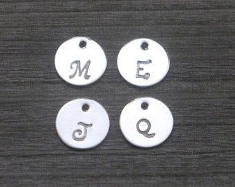 Add-On Tiny Sterling Silver Disc