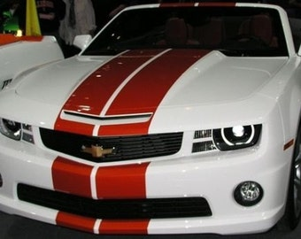 "11"" Vinyl Rally Stripes Racing Stripe Kit For Chevy Camaro - Multiple Colors Available"
