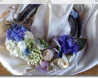 Lucky Horse shoe. Wedding gift.