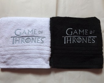 "Game of thrones  Towels /  "" FREE TOWEL OFFER """