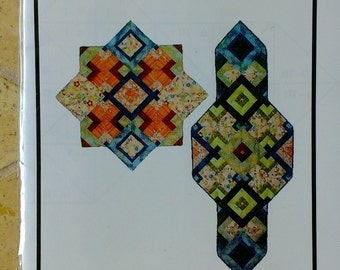 Twofer Art Quilt pattern - New