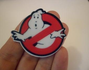 Ghostbuster pin Brooch
