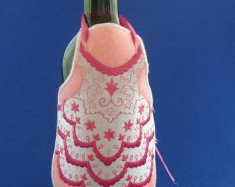Bridal Bottle Apron