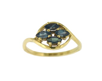 NATURAL Alexandrite Ring in 14K Yellow Gold with Certificate!!!  Free Shipping in The USA