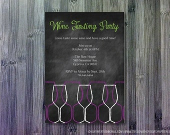 Wine Tasting Invitation | GP4