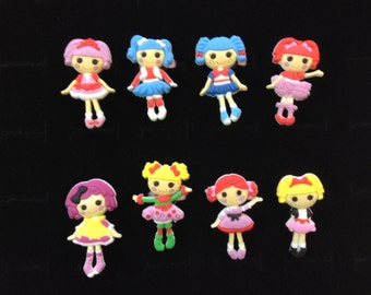 Lalaloopsy Rings Party Favors Cupcake Toppers