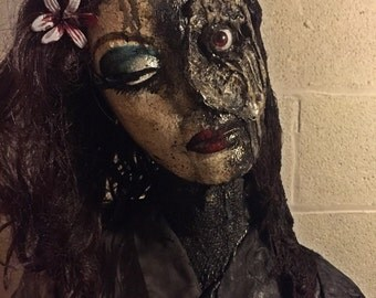 "5' Halloween Prop Doll ""The Melting Mother"""