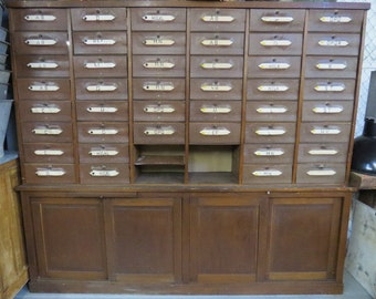 French Notary Cabinet