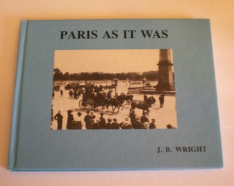 Paris as it was Book  Paris Apartment Coffee Table must have book 1985 Lovers of Paris