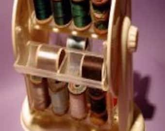Vintage thread carrier