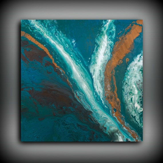Art Abstract Painting Acrylic Paintings XL Extra LARGE Wall