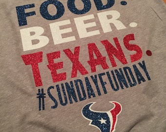 Houston Texans #SUNDAYFUNDAY tee