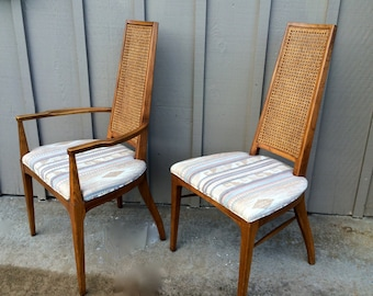 Vintage Mid Century Modern Dining Chairs 5 Available