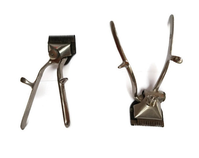 Vintage Hair Clipper/Vintage metal hair shearer machine, Fully mechanical, Allover Barber Shop Shears ,Trimm/ grooming