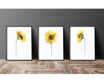 Sunflower Girls Art