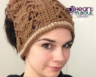 Open Up Slouchy Hat