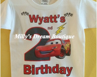 Cars Personalized T shirt