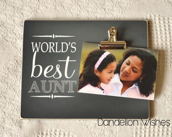 or uncle mom dad etc personalized 8x10 photo clip frame gift customized to fit any name you would like