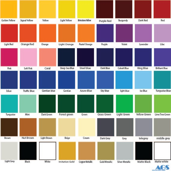 12X24 ORACAL 651 glossy Vinyl Crafts Hobby by AnteUpGraphics